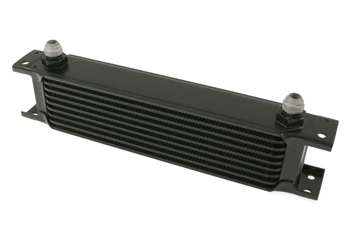 Chłodnica Oleju TurboWorks 9-rzędowa 260x70x50 AN8 Black - GRUBYGARAGE - Sklep Tuningowy